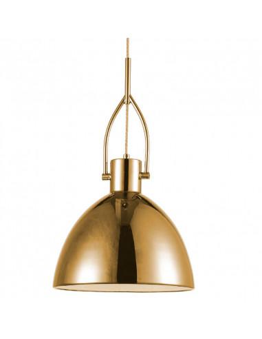 Lámpara Colgante Industrial - Dorado