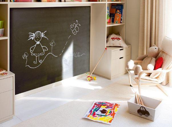 iluminacion  ideas decorar y amueblar dormitorio infantil