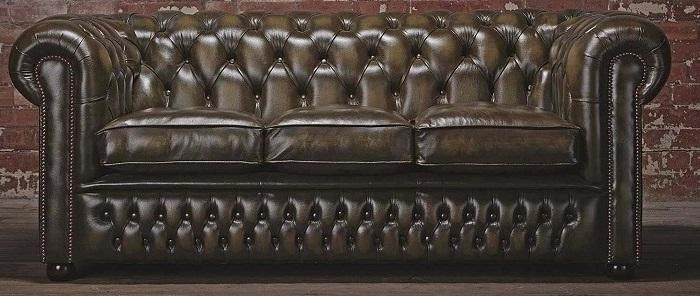 Historia sofá Chesterfiel